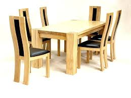 kitchen and dining furniture sets dining chairs sets dining room oak dining table and chairs of