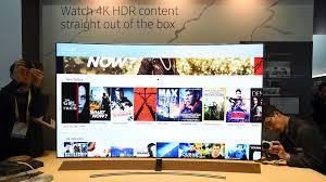 samsung tv smart. 4k hdr contents available on qled tv smart hub samsung tv