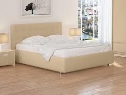 <b>Кровать</b> Veda 1 (Экокожа Бежевый) 80x200 в Зеленограде