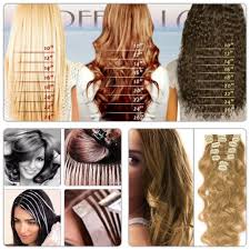 Clip In Hair Extension Length Chart A Helpful Guide For Different Textures Lengths Of Hair