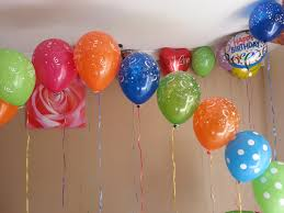 Balloon Decoration Ideas For Birthday Party At Home  Bedrooms For Simple Balloon Decoration Ideas At Home