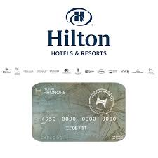 hilton hotel gift card