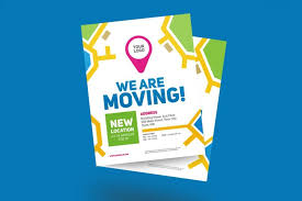 Moving Flyer Template We Are Moving Flyer Weidea