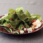 baby spinach chickpea salad   rachael ray