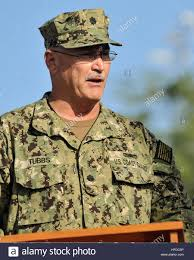 U S Coast Guard Cmdr Alan Tubbs The Officer In Charge Of