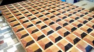 End Grain Cutting Board Design Software Making 3d End Grain Cutting Board 15