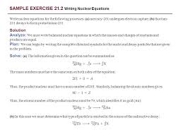 sample exercise 21 2 writing nuclear equations