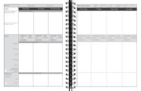 four week meal planner healthy habits system workbook four week planner