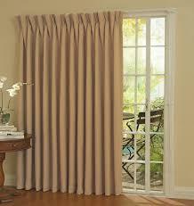 patio door curtain rods with wooden pattern floor and cream curtain door full size