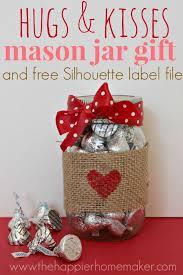 Valentine Mason Jar Gift & over 40 Valentine's Day Ideas! great idea for  teacher gift!