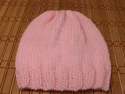 Basic Baby Hat Knitting Pattern