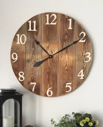 Small Picture 25 best Wall clock design ideas on Pinterest Change clocks