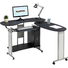 Compact Office Desks Image Is Loading CompactFoldingComputerDeskwShelfHomeOffice Compact Office Desks