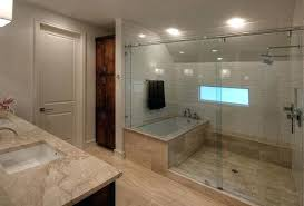 how you can make the tub shower combo work for your bathroom throughout large walk in shower floors medium size of large walk