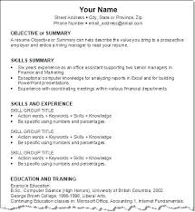 Resume For Job Resume Job History Tips – Tazy.info