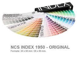 Ncs Index Shade Card