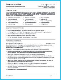 aircraft maintenance technician resume cool convincing design and layout for aircraft mechanic resume http