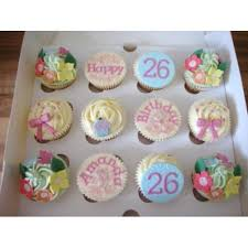 Send Cute Birthday Cupcakes For Baby Shower Girl Online Free