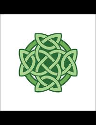 Zelený Keltský Uzel Nalepovací Tetování Potetujcz