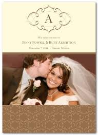 Wedding Announcement Photo Cards Printable Wedding Announcement Card Template