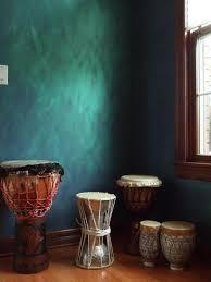 metallic paint walls