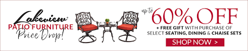 lakeview patio furniture drop