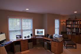 Office Great Vintage Home Office Design With White Furniture Also