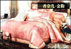gold comforter set king pink and gold comforter luxury lace jacquard satin bedding set king queen size duvet cover bedspread red and gold comforter set king