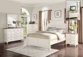 antique white bedroom furniture. Interesting Bedroom Homelegance Floresville Bedroom Set  Antique White In Furniture Q