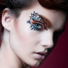 make up ideas spider eye make up women