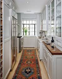 Apartment Galley Kitchen Renovated Apartment In New York Prewar Luxury Home