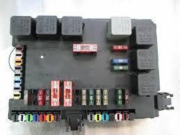 Rear Trunk Fuse Box Block 2215450801 Mercedes S550 W221 2007 W216