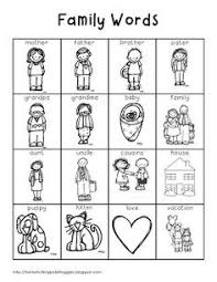 Small Picture my family members worksheets for preschoolers Full size is 1319
