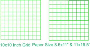 Graph Paper Item Number 085282 10 10 By 10 Graph Paper Pad Styles