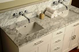 image of wall mounted bathroom sink faucet