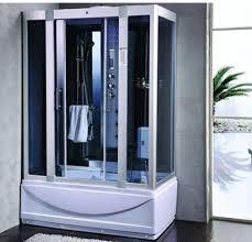 steam shower room with deep whirlpool termostatic bluetooth 9004 image 1