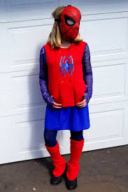 how to make a spider man costume for girls
