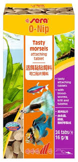Сухой <b>корм</b> Sera O-NIP <b>универсальный</b> в таблетках для <b>рыб</b>