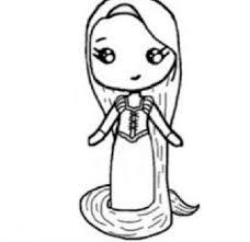 Tangled Chibi Bambine Pinterest Kawaii Drawings Chibi Girl