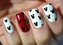 nail designs cartoon characters
