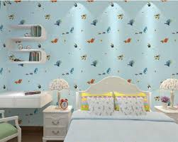 Behang Slaapkamer Blauw
