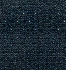 chair fabric. blue metal chair fabric color t