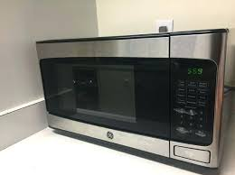 ge stainless steel microwave like new ge countertop microwave stainless steel 110 cu ft ge
