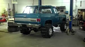 Chevy K5 Blazer start up! - YouTube