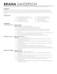 Delivery Driver Resume Adorable Sample Resume For Truck Driver Truck Driver Resume Example Truck
