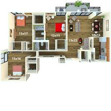 4 Bedroom Apartments In Maryland Plans Custom Inspiration Ideas