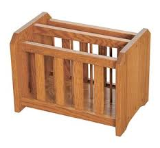 Oak Magazine Holder Four Seasons FurnishingsAmish Made Furniture Solid Oak Magazine 2