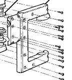 transpec school bus parts for a parts warehouse bracket rear