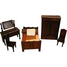 Dolls House Kitchen Furniture Reserved English Doll House Furniture Elgin Lines Bros Bedroom