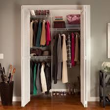 closet kits new closetmaid 5 8 ft closet organizer with shoe rack hayneedle